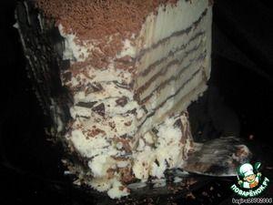 "Рецепт: Миллефолье ""Крокканте семифреддо с кофе и шоколадом"""