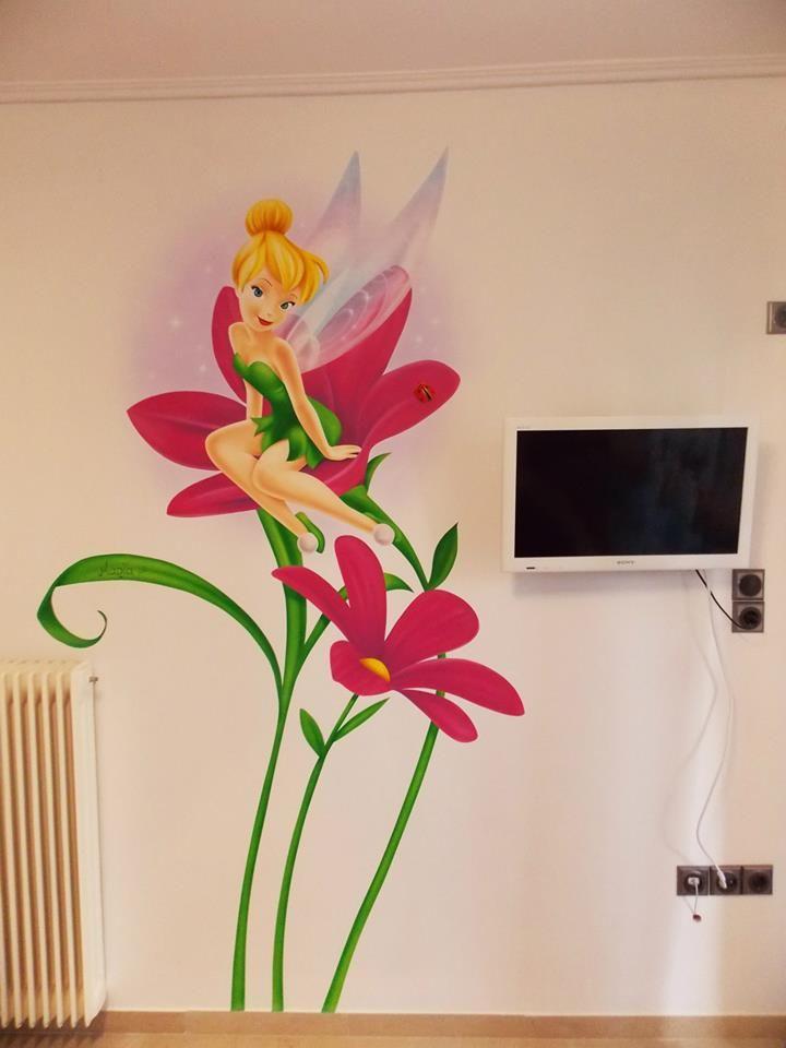 19 best tinkerbell bedroom images on pinterest for Kids room doorbell