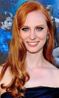 How to Get Jessica From True Blood's Hair Color -- Deborah Ann Woll, who plays baby vamp Jessica on True Blood, recently revealed that her gorgeous titian locks aren't the result of unfairly awesome genetics or a really, really good colorist — it's actually just drugstore dye. Deborah Ann told MARKTBeauty that L'Oreal Excellence Hair Color in Strawberry Blonde 9RB ($7) is her pick.