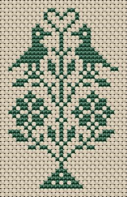 Free Sampler Patterns: heart. One example of the pattern I just Pinned.