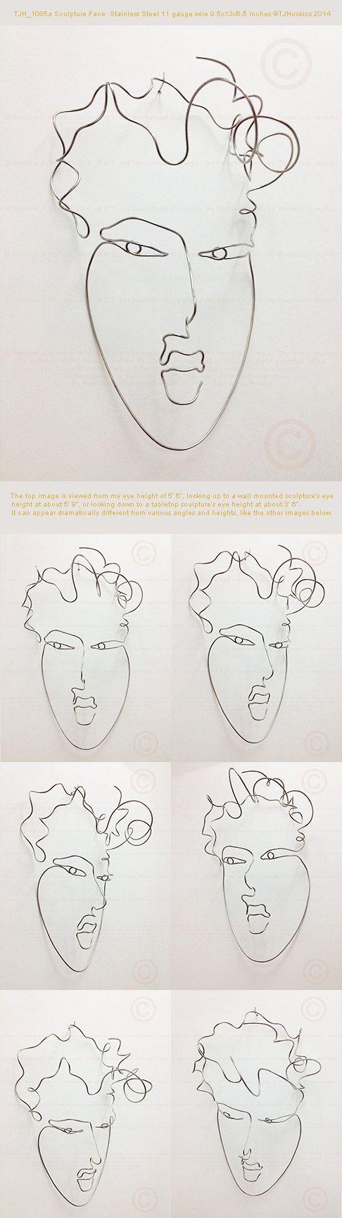 20 best wire sculptures images on Pinterest | Wire sculptures, Wire ...