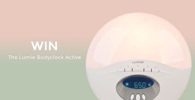 Win a Lumie Bodyclock Active