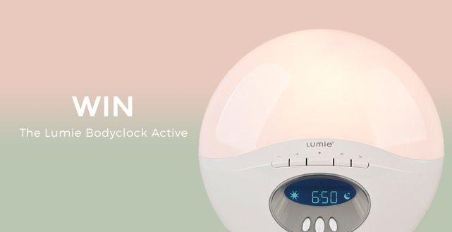 Win a Lumie Bodyclock Active