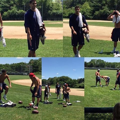 Jules And Jimmy Working Out Together Jimmy Garoppolo