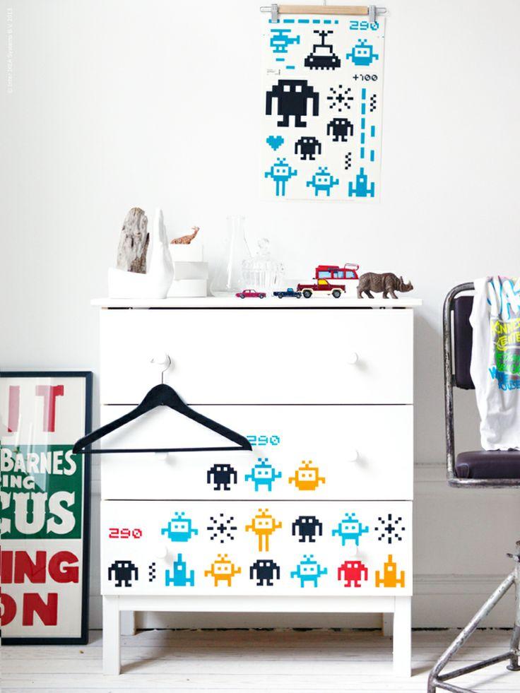 Diy tarva med sl tthult dekoration diy pinterest for Ikea dekoration