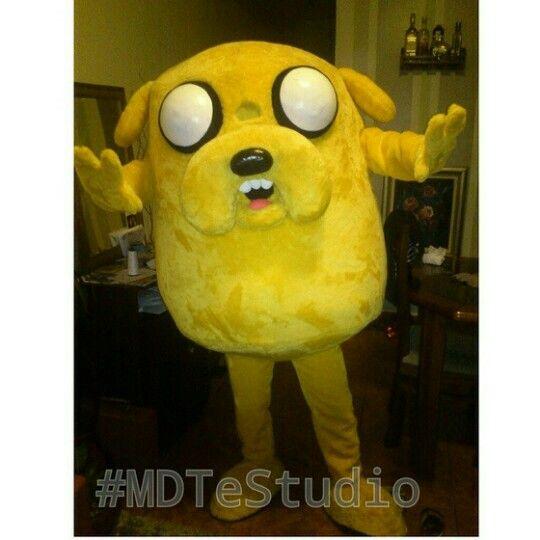 Mais um pronto p entrega!! :D  #JakeTheDog #JakeOCao #AdventureTime #HoraDaAventura #mascot #mascote #BonecosVivo #bonecovivo #personagensVivo #personagemVivo #MdteStudio #klenquen #festa #fantasia
