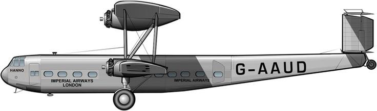 Handley Page HP.42 de Imperial Airways (1931)