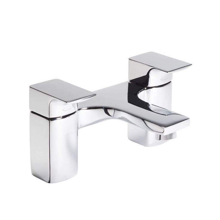 Siren Bath Filler The elegant profile of Siren taps scream urban sophistication and would deliver a big impact for those wanting an ultra modern look. This chrome lever action tap is for use with two tap hole baths. The Siren range are low pressure taps making them suitable for all plumbing systems including conventional gravity fed systems.The Siren bath filler i...