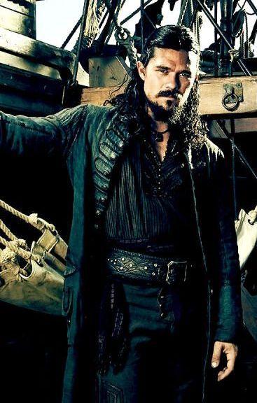 #JohnSilver #BlackSailsS3 Luke Arnold Leather #Coat