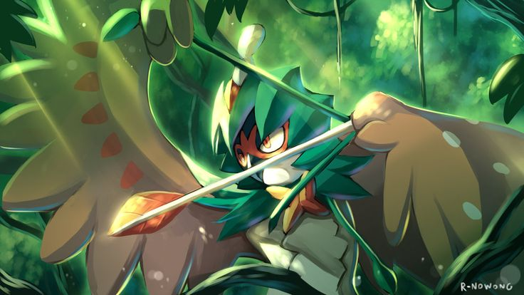 decidueye and chestnaught trying - photo #29