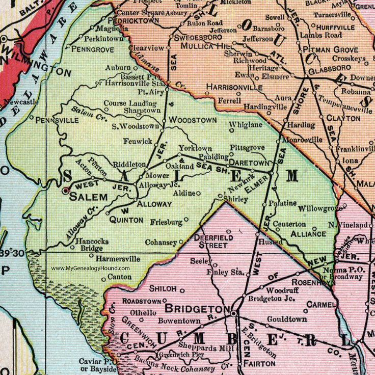 21 best Historic New Jersey County Maps images on Pinterest Cards