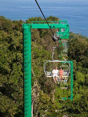 Rode the Chairlift @ Mystic Mountain,Jamaica