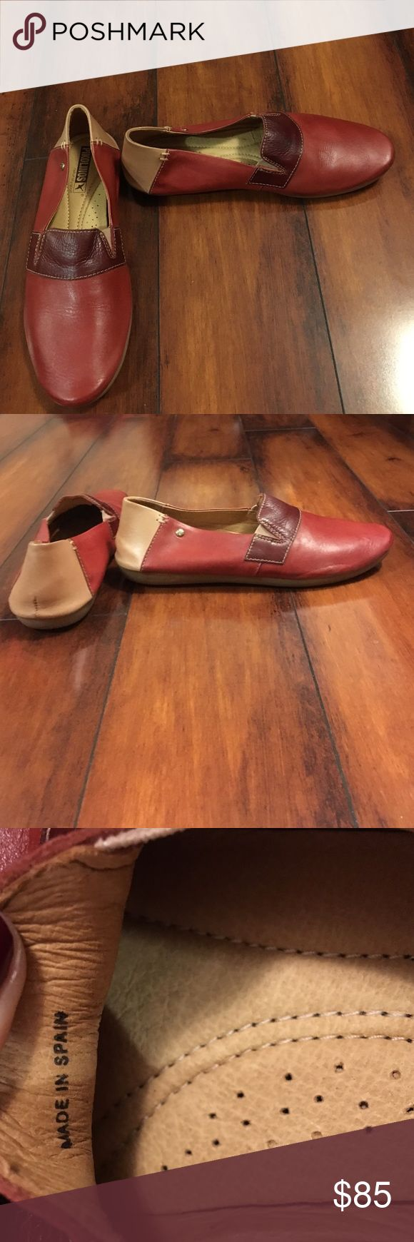 New PIKOLINOS flats These are all leather flats and are worth at least $150 because of the comfort and quality. Now it's your chance to get it for a steal. They're BRAND NEW and never worn!  NWOT! Made in Spain! Women European size 37 and fits a size 6.5 - 7 in USA women's. PIKOLINOS Shoes Flats & Loafers