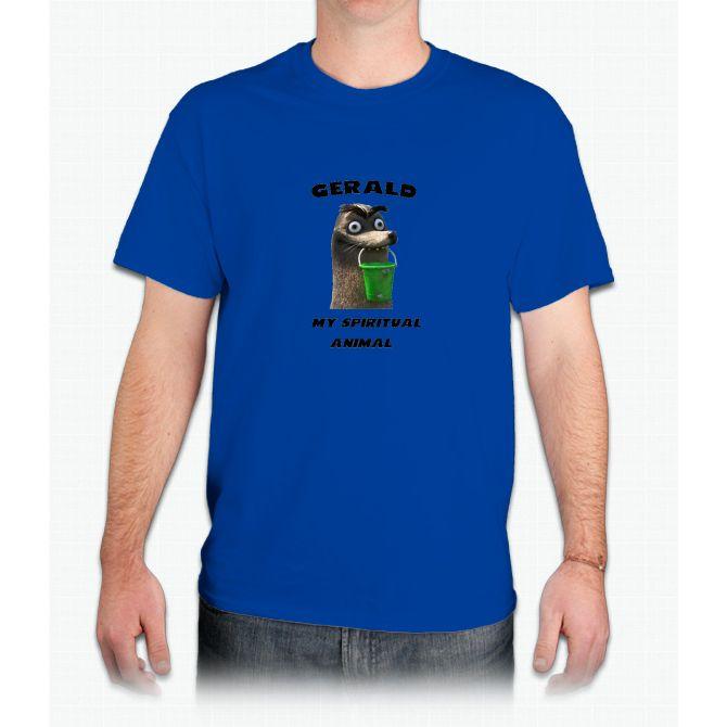 Gerald, my spiritual animal - Mens T-Shirt