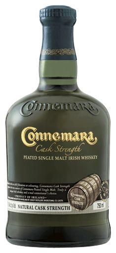 Cask strength Connemara Irish Whiskey
