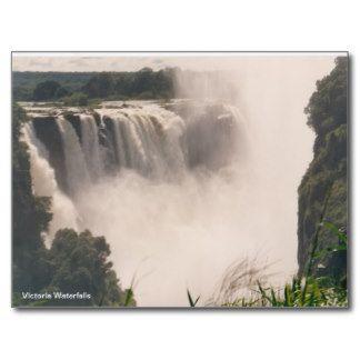 Postcard Victoria Waterfalls   http://artscraftsandframes.co.za/