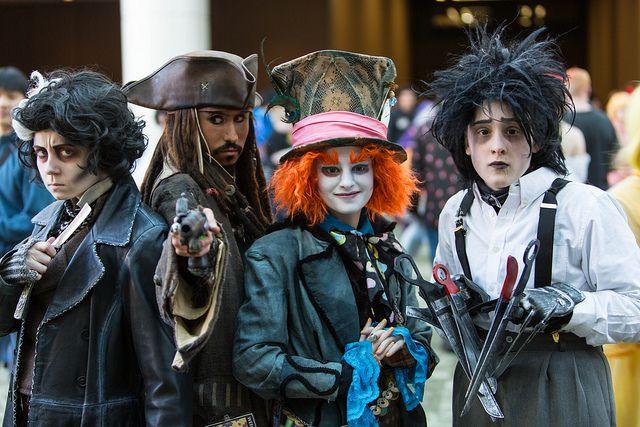 """The Depp Squad"" | Sakura Con 2013 #cosplay"