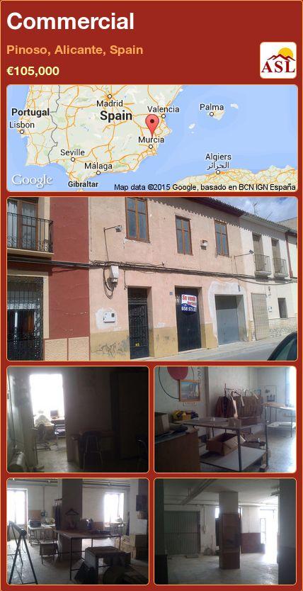 Commercial in Pinoso, Alicante, Spain ►€105,000 #PropertyForSaleInSpain