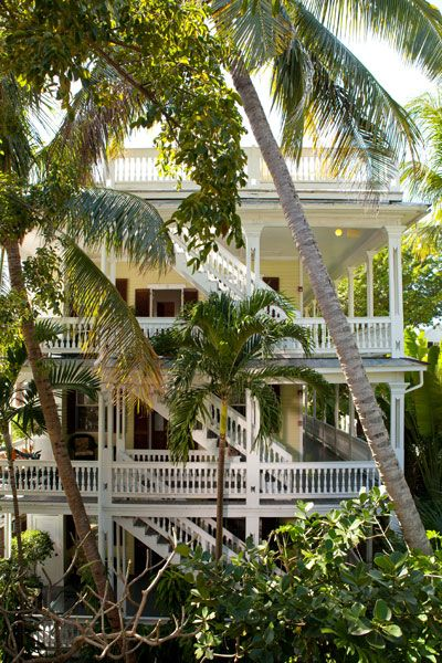 #Key West porches provide an enviable outdoor lifestyle. Fall in love with a house in a whole new way.