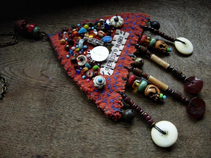 Amulet necklace.