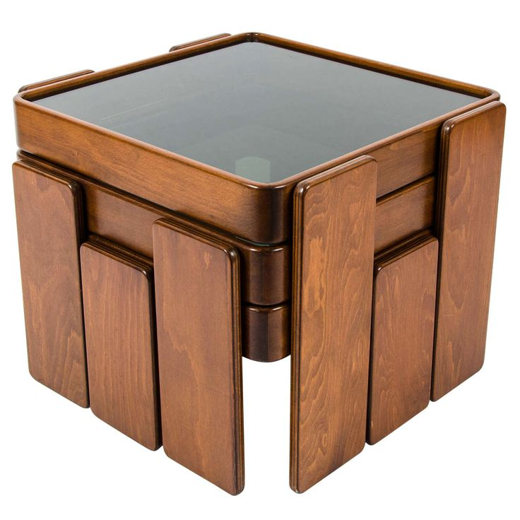 Stacking Coffee Table By Cassina Nesting Tables