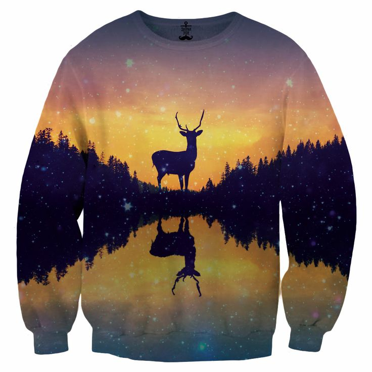 Deer sweatshirt x Syrenka Store