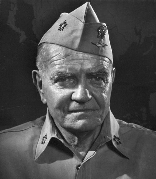 "William  ""Bull"" Halsey (1882 - 1959) US admiral, important commander in the Pacific theater during World War II, his ships launched Doolittle's raid on Tokyo"