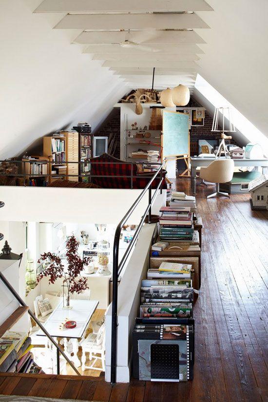 attic room. organised home study. #rassphome #contemporary #minimalist