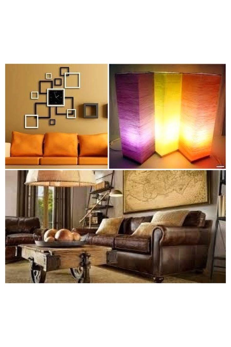 Sabias que los tonos amarillos, naranjas y ocres aportan luz y amplitud a los espacios. #tendencias #moda #bisuteria #ceramica #madera #vidrio #decorasu
