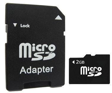 2GB MicroSD Micro SD Memory Card with Adapter For LG Optimus 2x Motorola Milestone Milestone 2 Nokia N8 C6 C7 C5 E5 C5-03 X3-02 X2 X3 C3-01 X5-01 N97 E63 6303 6700 Samsung i9000 S Galaxy S8500 Wave S5620 Monte S8530 Wave 2 i9100 S 2 Galaxy S5750 Wave 575 Sony Ericsson Xperia X10 Xperia X8 Xperia X10 mini Bold 9780 9700 Storm 2 9520 9105 Pearl 3G 9800 Torch 8520 Curve 9300 Curve 3G HTC Wildfire Wildfire S Desire Desire S Desire HD Incredible S - http://pay-monthly-phones-on-02