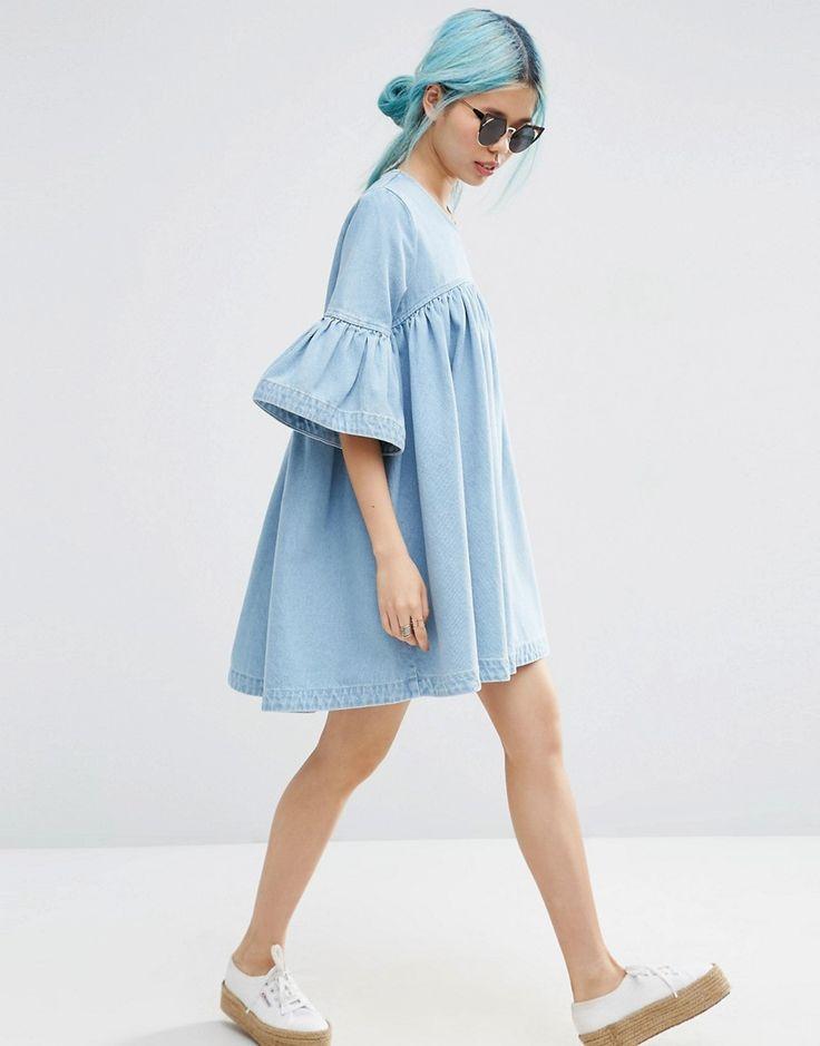 Jeans Dress  Preloved Fashion ♥ Catchys