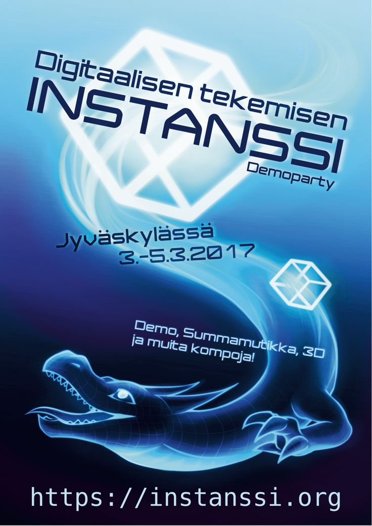 An awesome dragon. Sine wave. #dragons #demoscene #events #finland
