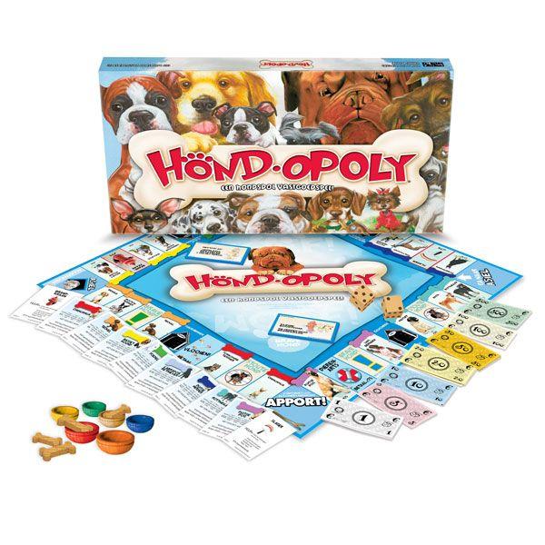 Dol op honden? en op spelletjes? Combineer het in het supergave spel Hondopoly