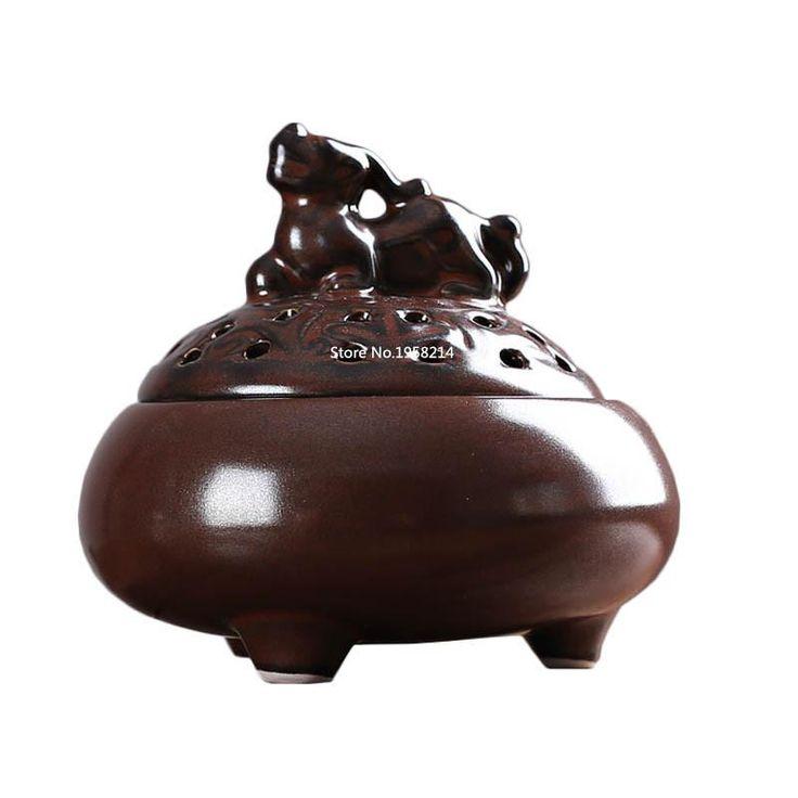 Ceramic Plate Censer Aromatherapy Incense Burner Coil Stove