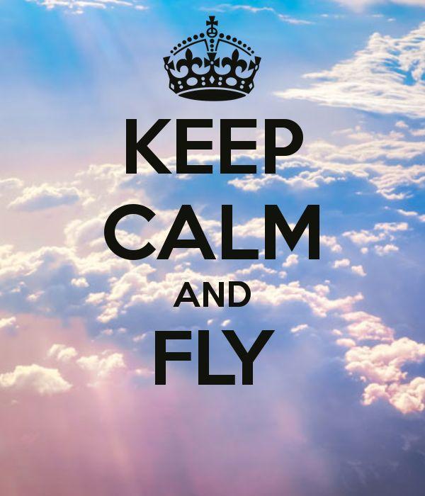 KEEP CALM AND FLY .