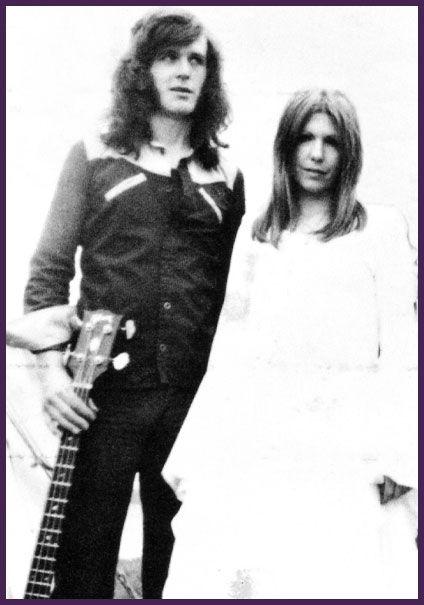 Annie Haslam (Renaissance) and John Wetton (King Crimson) at The Reading Festival 1971