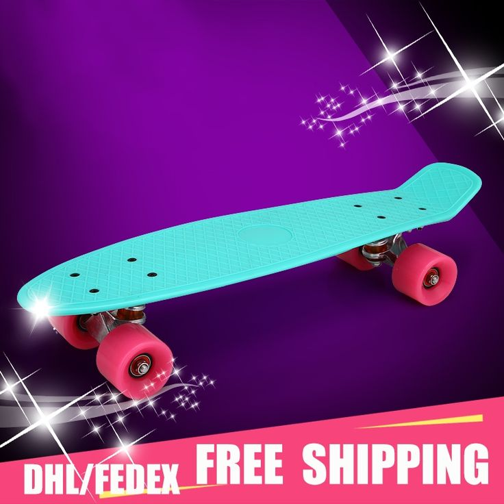 """(64.50$)  Buy here - http://aiwbd.worlditems.win/all/product.php?id=32470424595 - """"Adult children's scooter skate board 22""""""""Pastel Color Original Long Board Skateboard Board Boy Girl Retro Cruiser Skateboard"""""""