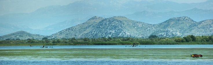 Lake Skadar, National Park and bird reserves in Europe, Montenegro, Nikon Coolpix L310, 71.2mm, 1/400s, ISO80, f/5.7, -0.3ev, panorama mode: segment 3, HDR-Art photography, 201607091222