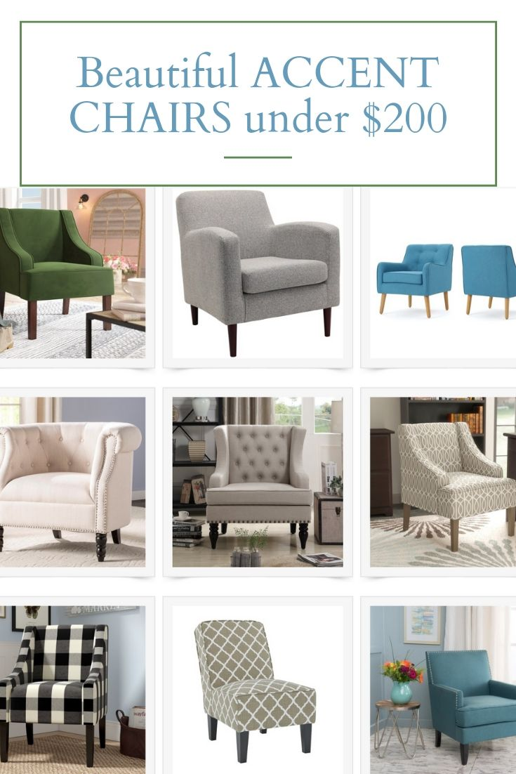 Fabulous Accent Chairs Under 200 00 Chic Accent Chairs Accent