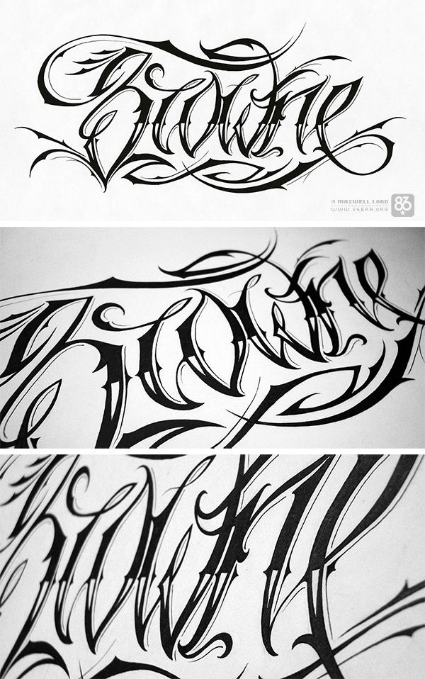 43 Best Images About Script Tattoo Fonts On Pinterest