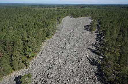 Lauhanvuori National Park Kivijata Stone Field Photo: Timo Halme ja Tuomo Häyrinen