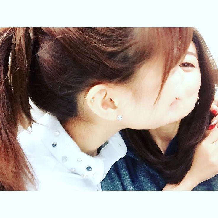 まさかのキス写真  みたいになった  Xoxo to sae  #佐江ちゃん #宮澤佐江 #miyazawasae #元気ング by yuk00shima