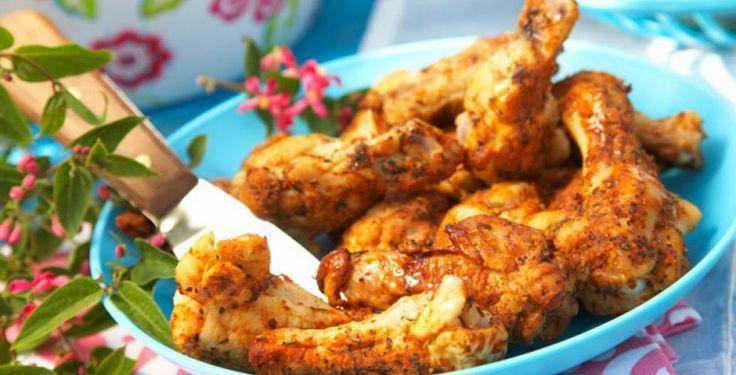 Kyllingklubber med favorittsaus