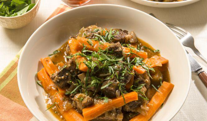 Cocotte de bœuf aux carottes (À enfourner)