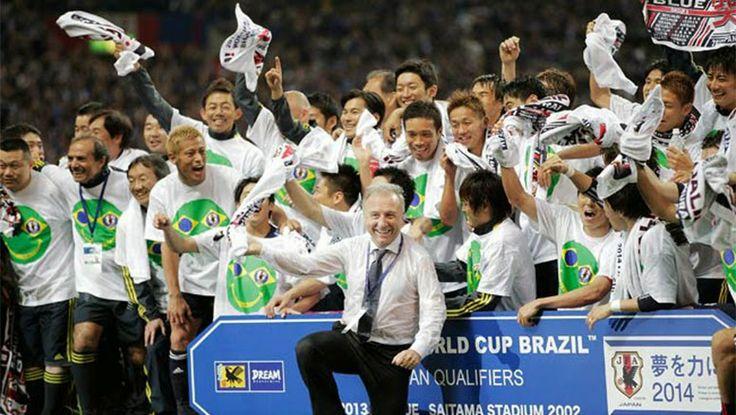 Jepang Melawan Siprus, Kosta Rika, dan Zambia Sebelum ke Piala Dunia di Brazil