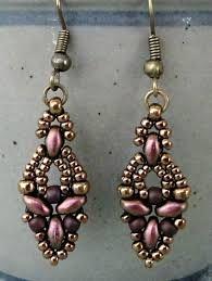 Risultati immagini per earrings superduo