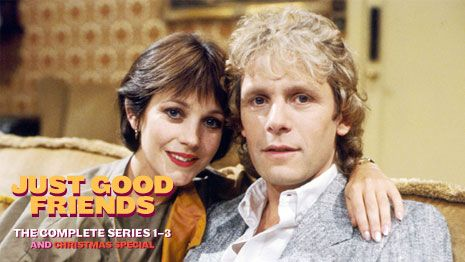 Just Good Friends - Paul Nicholas and Jan Stevens. I used to love this programme - it was really funny.