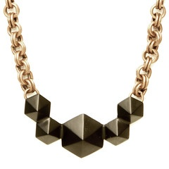 Multi-Pyramid Stud Choker via LUV AJ