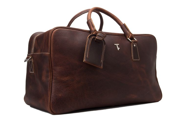 Holdall Leather Weekend Bag