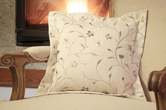 Designer Grey Taupe Black Pillow  Clarke & Clarke by emeisonCOM